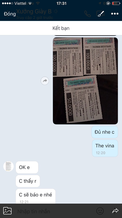 Cảnh giác chiêu lừa bán hàng online trả bằng thẻ cào - Ảnh 1.