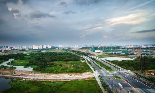 Đất Thủ Thiêm cao nhất 170 triệu đồng mỗi m2 - Ảnh 1.