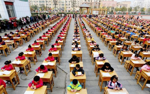 Mẹ hổ Trung Quốc phát điên vì cày bài tập về nhà của con - Ảnh 1.