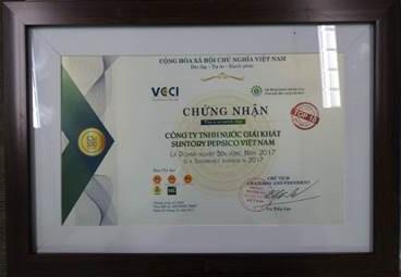 Suntory PepsiCo Việt Nam: Doanh nghiệp Bền vững và cống hiến cho cộng đồng - Ảnh 1.