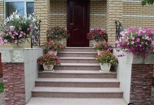 Muôn kiểu trang trí mặt tiền nhà với hoa cực hút mắt - Ảnh 2.