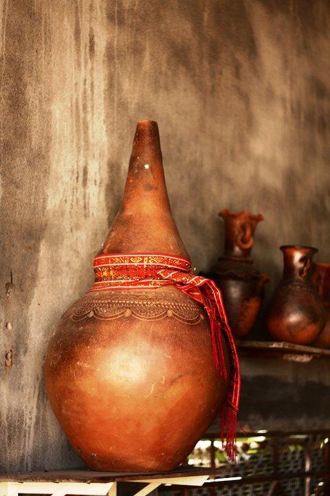 Độc đáo nghệ thuật làm gốm ở Bàu Trúc - Ảnh 11.