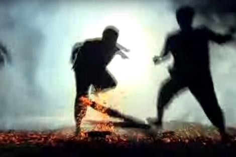 Vũ điệu nhảy lửa huyền bí của các chàng trai người Pà Thẻn