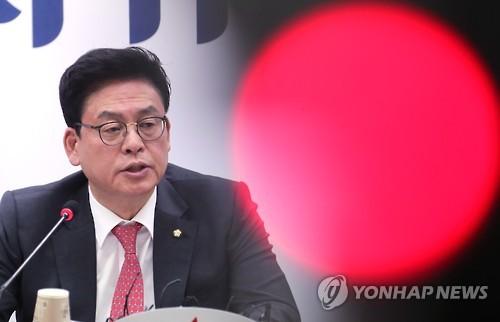 Nghị sĩ Chung Woo-taik Ảnh: YONHAP