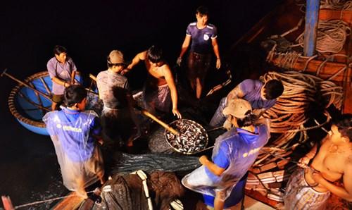 Ngư dân trên tàu QNg 98214