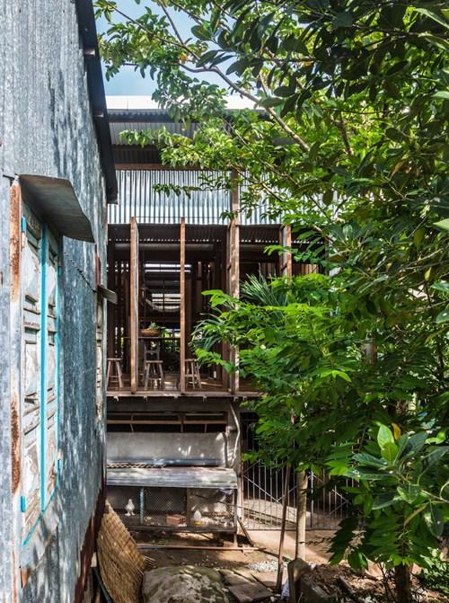 Mê mẩn căn nhà gỗ độc không tưởng ở Châu Đốc - Ảnh 3.