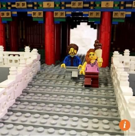 Tái tạo tử cấm thành bằng 500.000 miếng lego - Ảnh 3.
