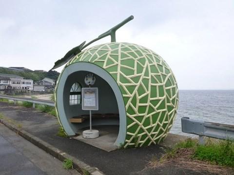 Những trạm xe buýt độc lạ chỉ có ở Nhật Bản - Ảnh 3.