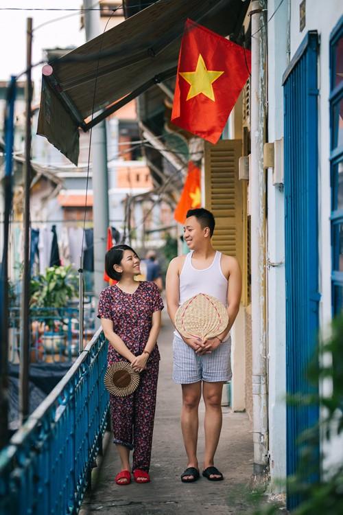 Chuyện tình oan gia của chàng trai Hà Nội và cô gái Sài Gòn - Ảnh 4.