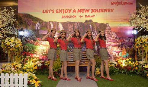 Vietjet mở đường bay Đà lạt – Bangkok đón lễ hội hoa quốc tế 2017 - Ảnh 2.