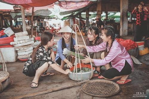 Phiên chợ quê có 1 không 2 ở Quảng Bình - Ảnh 9.