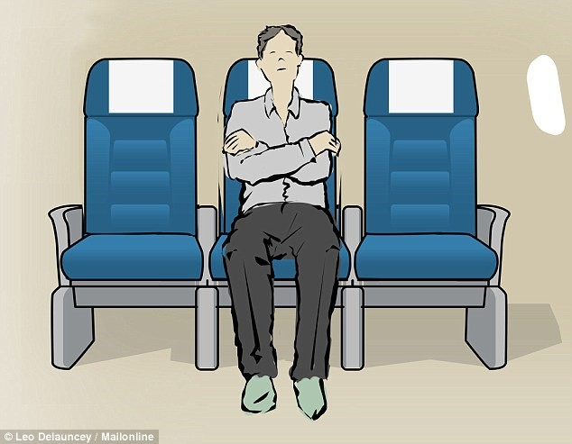 10 tư thế tốt nhất giúp bạn ngủ ngon trên máy bay