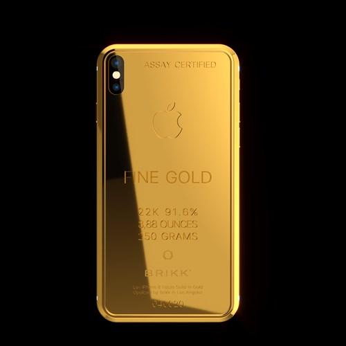 Phát sốt với iPhone X mạ vàng giá 1,5 tỉ vừa lộ diện - Ảnh 5.