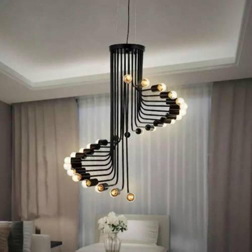 Muốn nhà đẹp và sang, nên sắm kiểu đèn chùm này - Ảnh 5.
