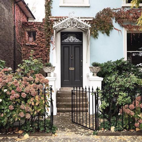 Muôn kiểu trang trí mặt tiền nhà với hoa cực hút mắt - Ảnh 5.