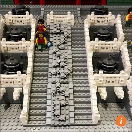 Tái tạo tử cấm thành bằng 500.000 miếng lego - Ảnh 6.