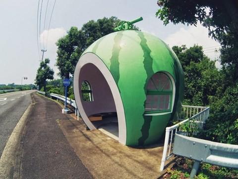 Những trạm xe buýt độc lạ chỉ có ở Nhật Bản - Ảnh 6.