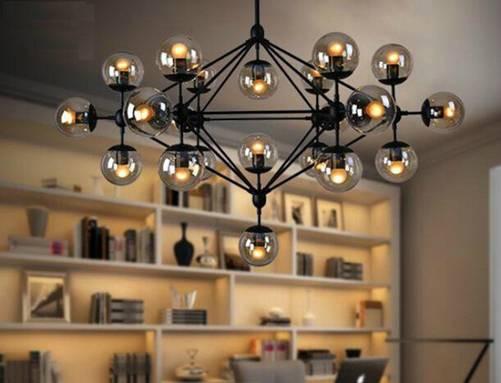 Muốn nhà đẹp và sang, nên sắm kiểu đèn chùm này - Ảnh 6.
