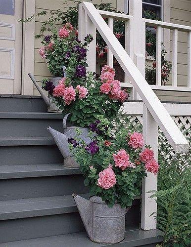 Muôn kiểu trang trí mặt tiền nhà với hoa cực hút mắt - Ảnh 6.