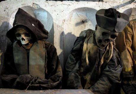 Bí mật những xác ướp trong hầm mộ Capuchin ở Italy - Ảnh 7.