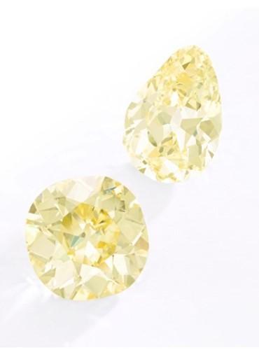 Ngắm hai viên kim cương vàng lớn nhất thế giới đấu giá hôm nay - Ảnh 7.