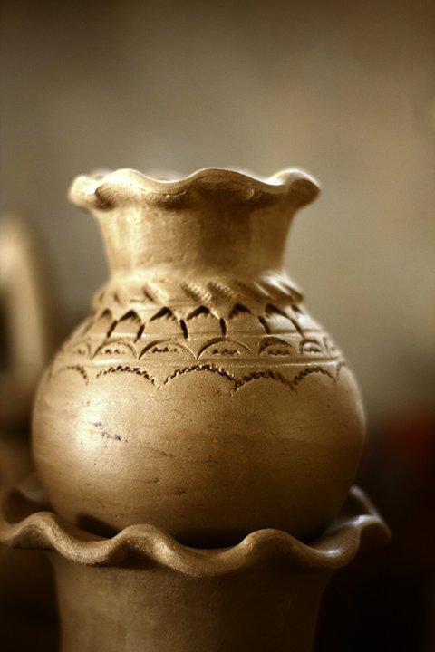 Độc đáo nghệ thuật làm gốm ở Bàu Trúc - Ảnh 8.