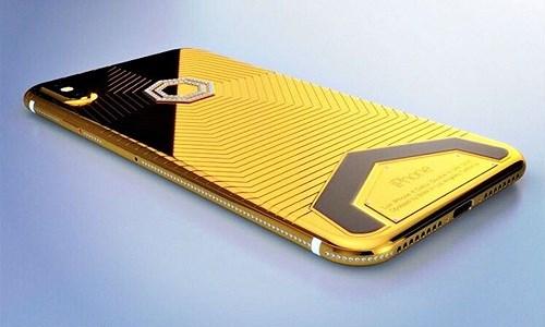 Phát sốt với iPhone X mạ vàng giá 1,5 tỉ vừa lộ diện - Ảnh 9.