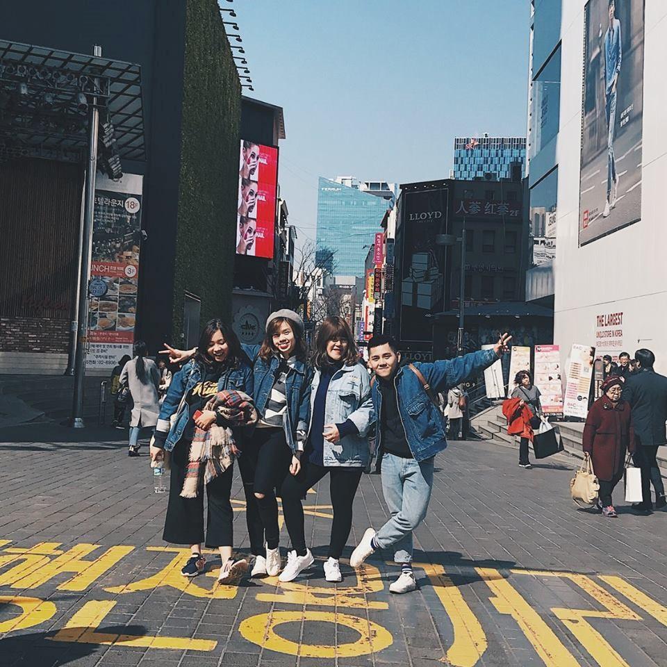 Vi vu 5 ngày 4 đêm tại Hàn quốc với 15 triệu đồng