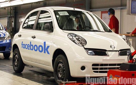 """Facebook gia nhập """"cuộc chơi"""" ô tô - Ảnh 1."""