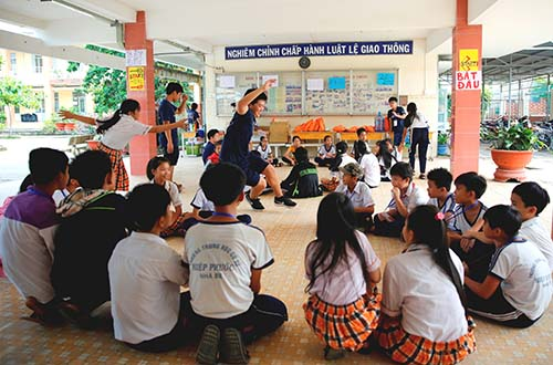 3 năm liên tiếp tổ chức hội trại tiếng Anh Nam Sài Gòn - Ảnh 2.