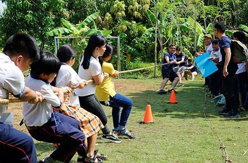 3 năm liên tiếp tổ chức hội trại tiếng Anh Nam Sài Gòn - Ảnh 3.