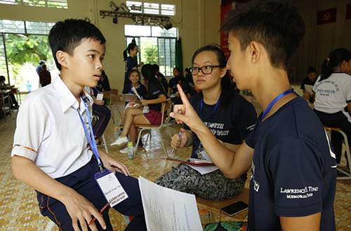 3 năm liên tiếp tổ chức hội trại tiếng Anh Nam Sài Gòn - Ảnh 1.