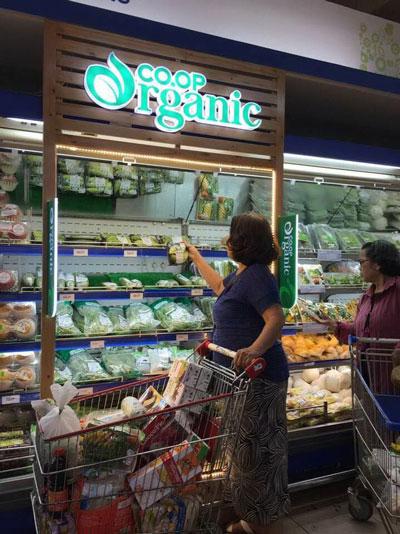 Nông sản organic hút khách - Ảnh 1.