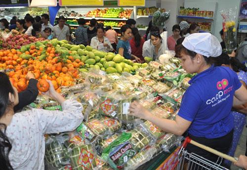 Thực phẩm chế biến sẵn ngày càng được ưa chuộng vì an toàn và tiện lợi Ảnh: Xuân Phương