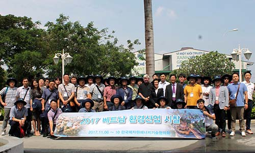 Đoàn Hàn Quốc tìm hiểu công nghệ của VWS - Ảnh 1.
