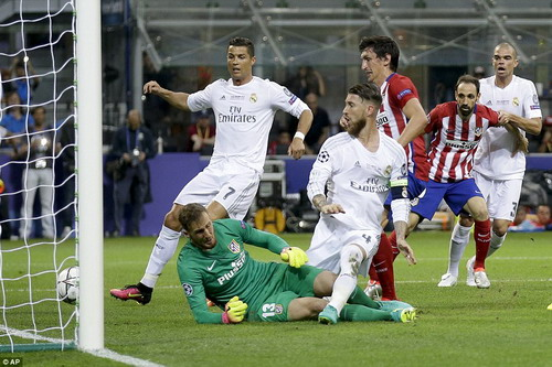 Real và Atletico ba mùa giải gặp nhau đến 2 lần ở chung kết Champions League