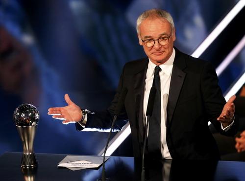 HLV bóng đá nam xuất sắc Claudio Ranieri