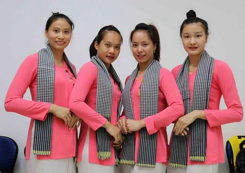 Dàn cầu thủ trẻ VTV Bình Điền Long An