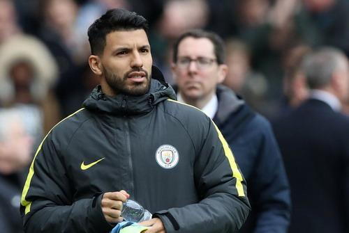 Aguero vắng mặt 3 trận liên tiếp ở đội hình xuất phát của Man City