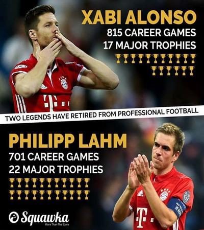 Bayern Munich giã biệt Lahm và Alonso - Ảnh 5.