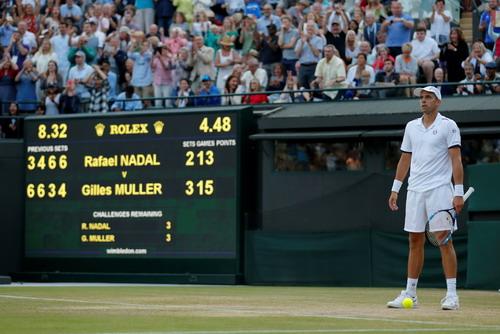 Cả Wimbledon sốc với thất bại của vua Nadal - Ảnh 4.