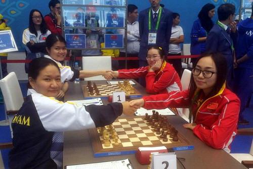 Hạ kình địch Trung Quốc, Quang Liêm - Trường Sơn vô địch cờ chớp - Ảnh 3.