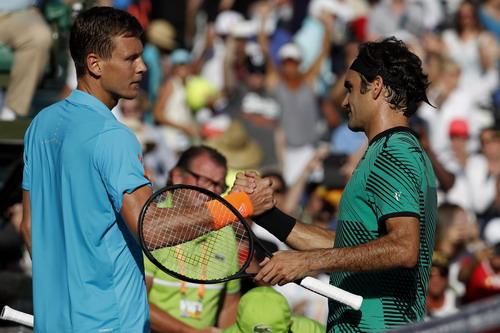 Federer lần đầu vào bán kết Miami Open sau 6 năm