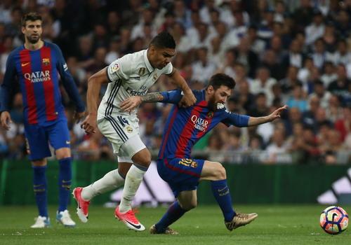 Casemiro mở tỉ số nhưng Messi kịp san bằng cách biệt