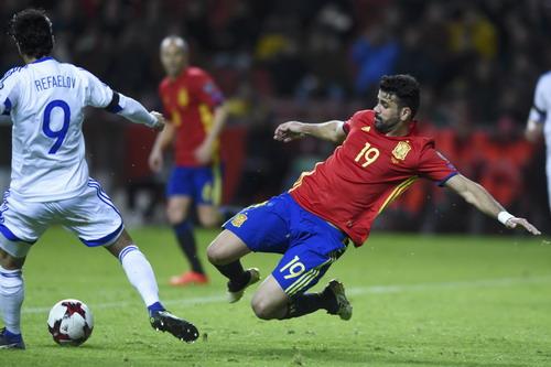 Diego Costa ghi 4 bàn sau 4 trận cho Tây Ban Nha