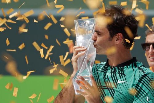Chiếc cúp Master 1.000 thứ 26 trong sự nghiệp của Federer