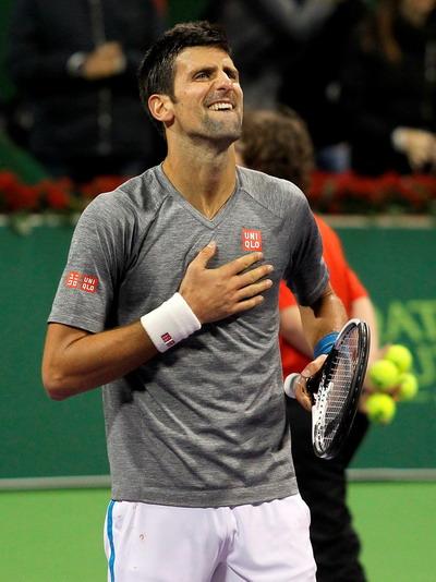 Chiến thắng giàu cảm xúc của Djokovic