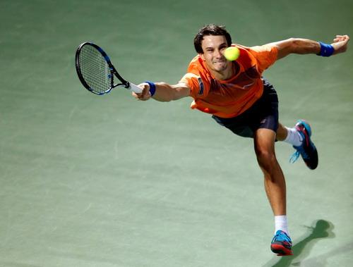 Donskoy lần đầu giành chiến thắng trước một tay vợt Top 10