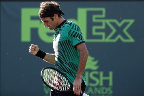 Federer sẽ hoàn tất cú đúp trên đất Mỹ?