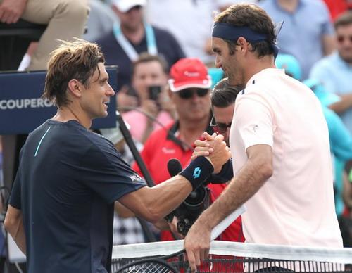 Thua đối thủ 18 tuổi, Nadal chia tay sớm Roger Cup - Ảnh 6.